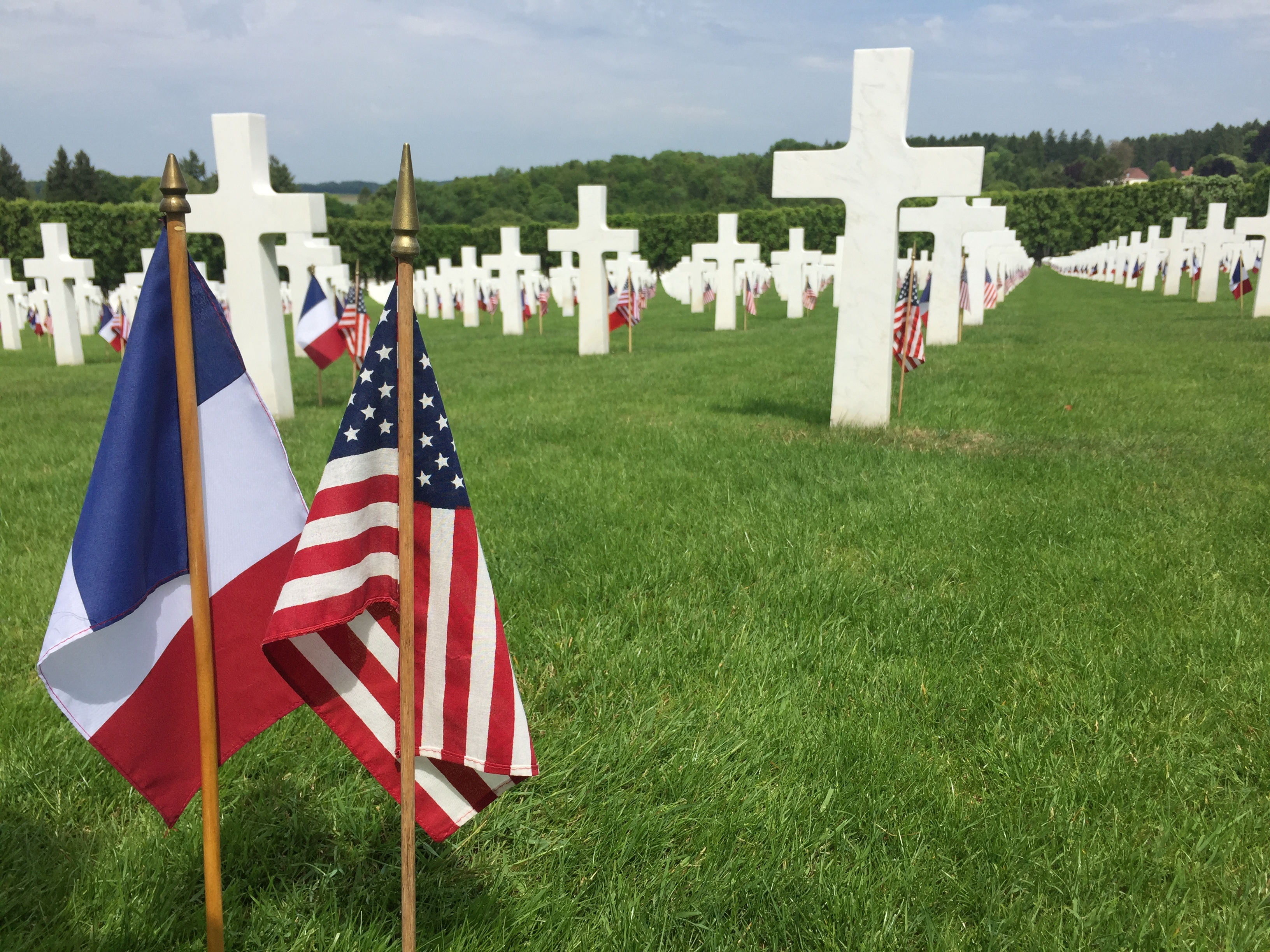 Memorial Day at the Meuse-Argonne Cemetery